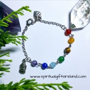 Chakra Stones Buddha Bracelet