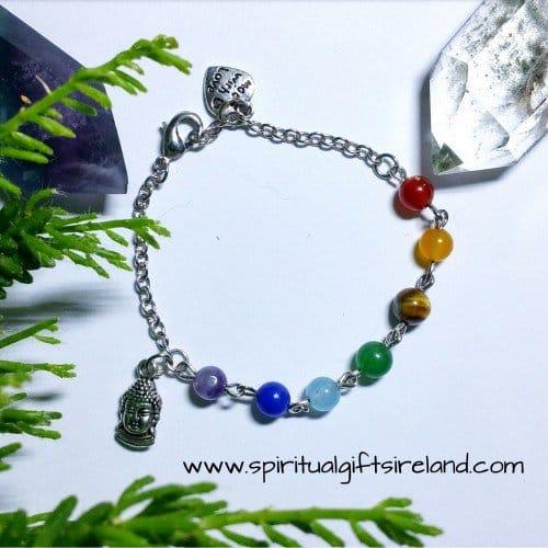 Chakra Bracelet Handmade Small Bead