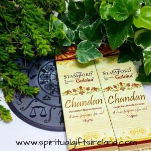 Goloka Chandan Masala Handrolled Incense