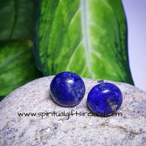 Lapis Lazuli Stud Earrings