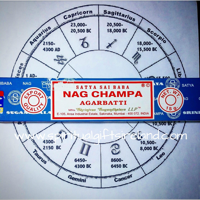 Satya Nag Champa Incense Sticks Spiritual Gifts Ireland