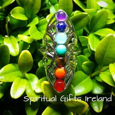 Chakra Shield Healing Ring