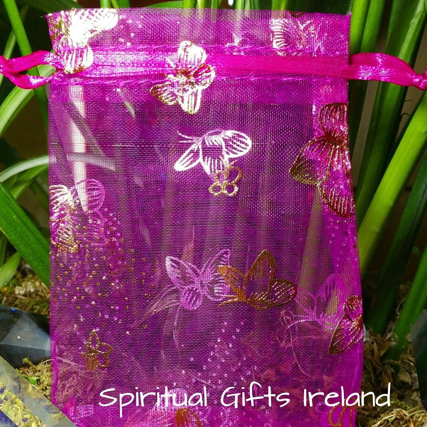 Organza Butterfly Gift Bag 9x12cm Spiritual Gifts Ireland