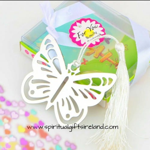 Butterfly Tassel Unique Bookmarks Gift Boxed