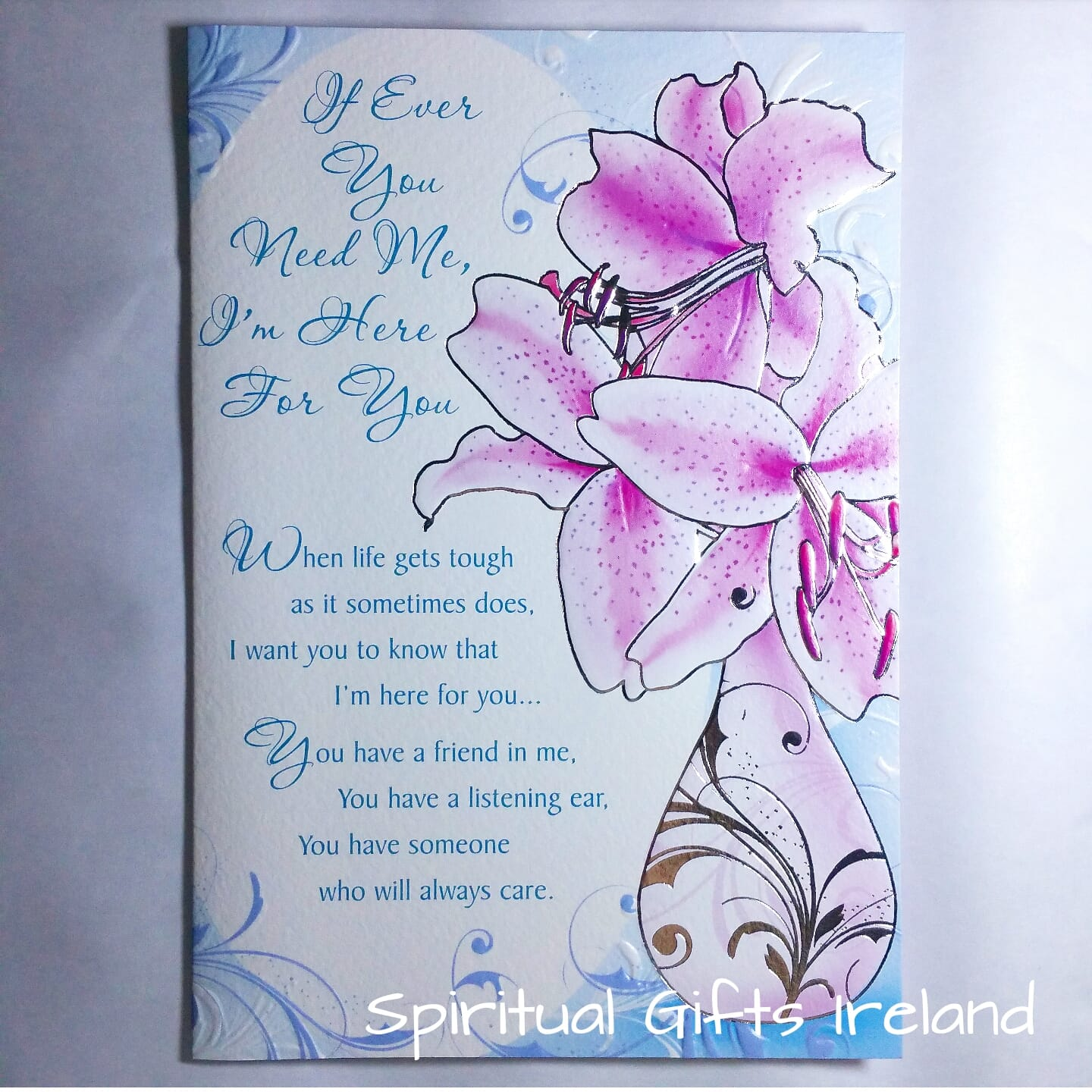 If You Need Me Inspirational Greeting Card Spiritual Gifts Ireland