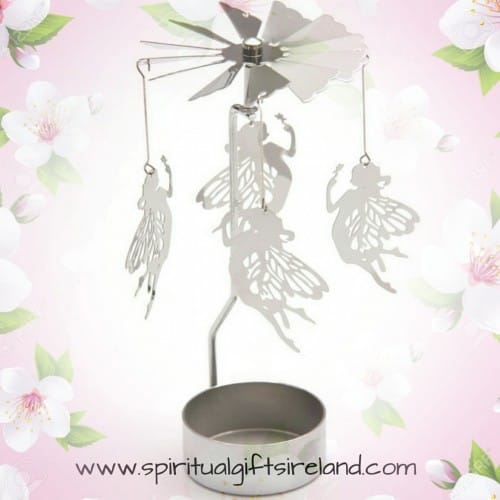 Fairy Spinner Candle Holder