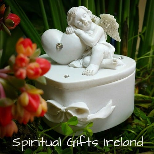 Angel Trinket Jewellery Box