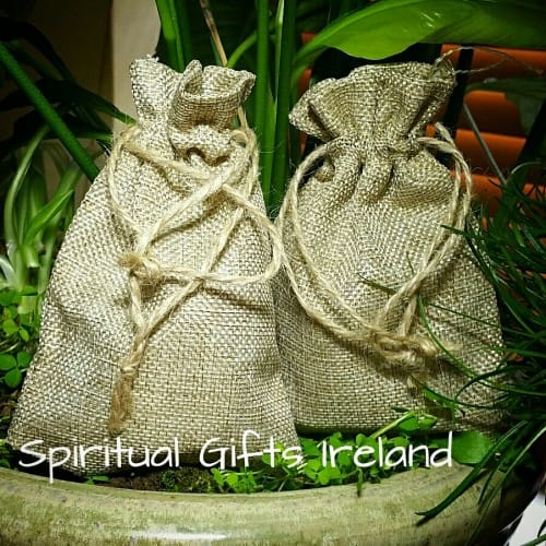 Burlap Jute Eco Friendly Gift Bags