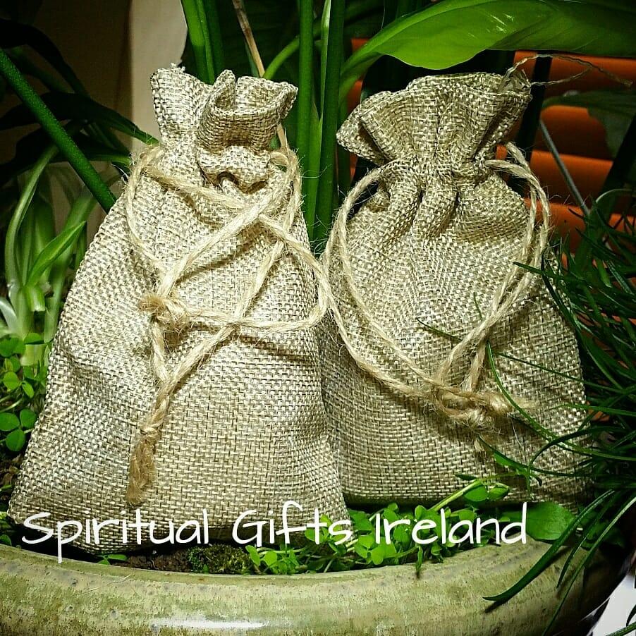 jute bags spiritual gifts ireland. Black Bedroom Furniture Sets. Home Design Ideas