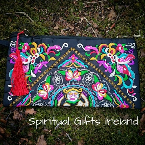 Handmade Tapestry Ethnic Clutch Bag