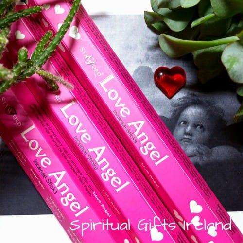 Stamford Love Angel Rose Incense Sticks