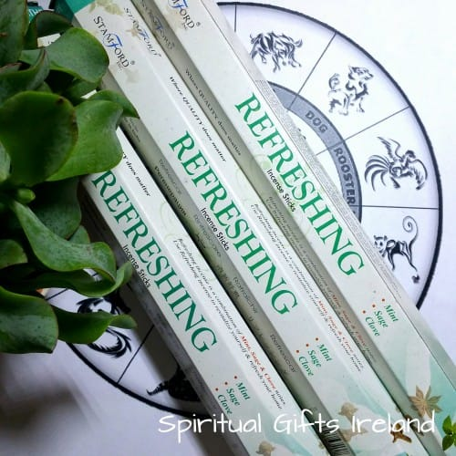 Stamford Aromatherapy Refreshing Mint Sage Clove Incense Sticks