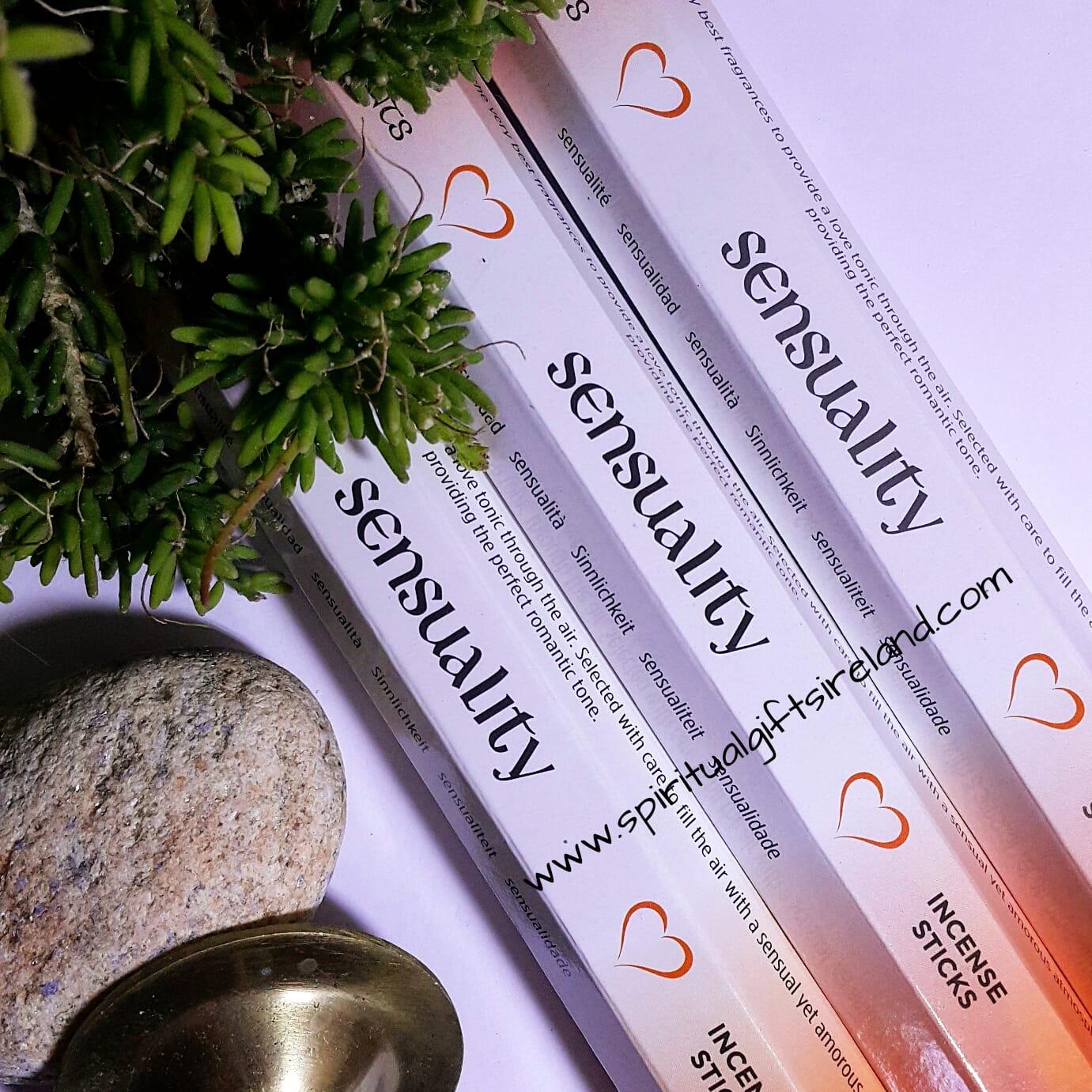 Elements Sensuality Ylang Ylang Nutmeg Patchouli Incense Spiritual Gifts Ireland