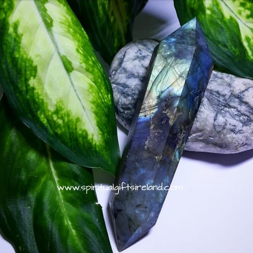 Labradorite Double Terminated Wand