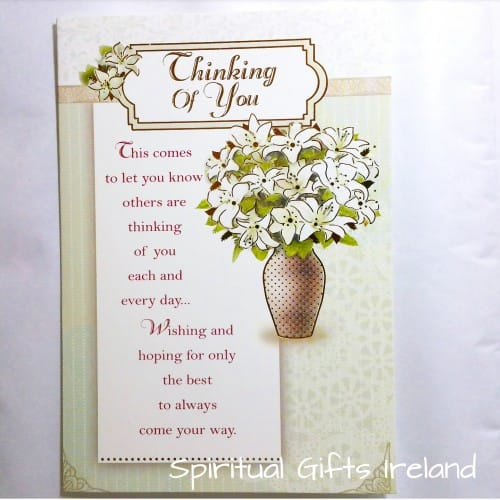 Thinking of You Inspirational Greeting Card
