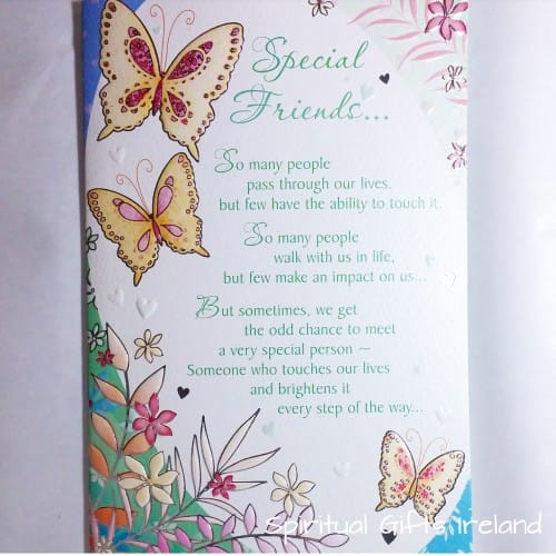 Special Friends Inspirational Greeting Card