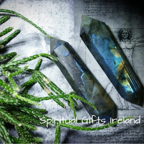 Labradorite Double Terminated Crystal Healing Wand