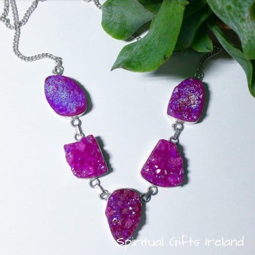 Handcrafted Sterling Silver Gemstone Necklaces