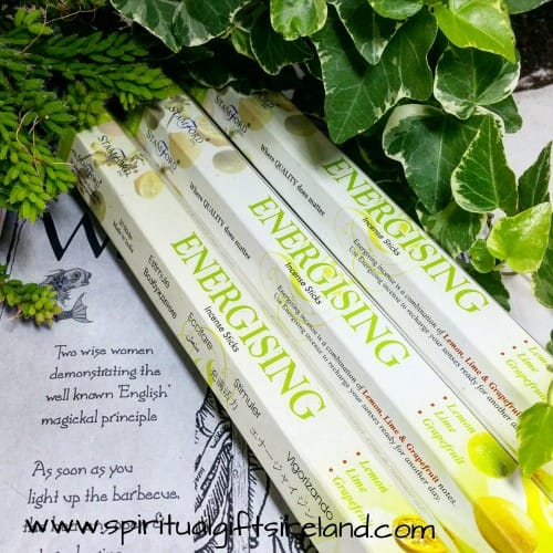 Stamford Energising Lemon Lime Grapefruit Incense Sticks