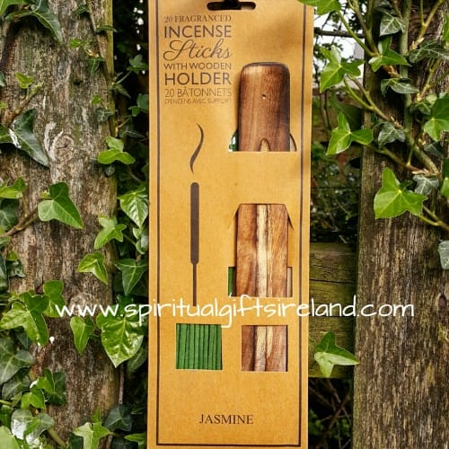 Twin Pack Jasmine Incense Sticks with Ash Catcher