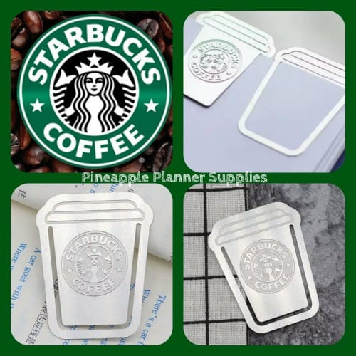 Starbucks Coffee Cup Bookmark Page Divider