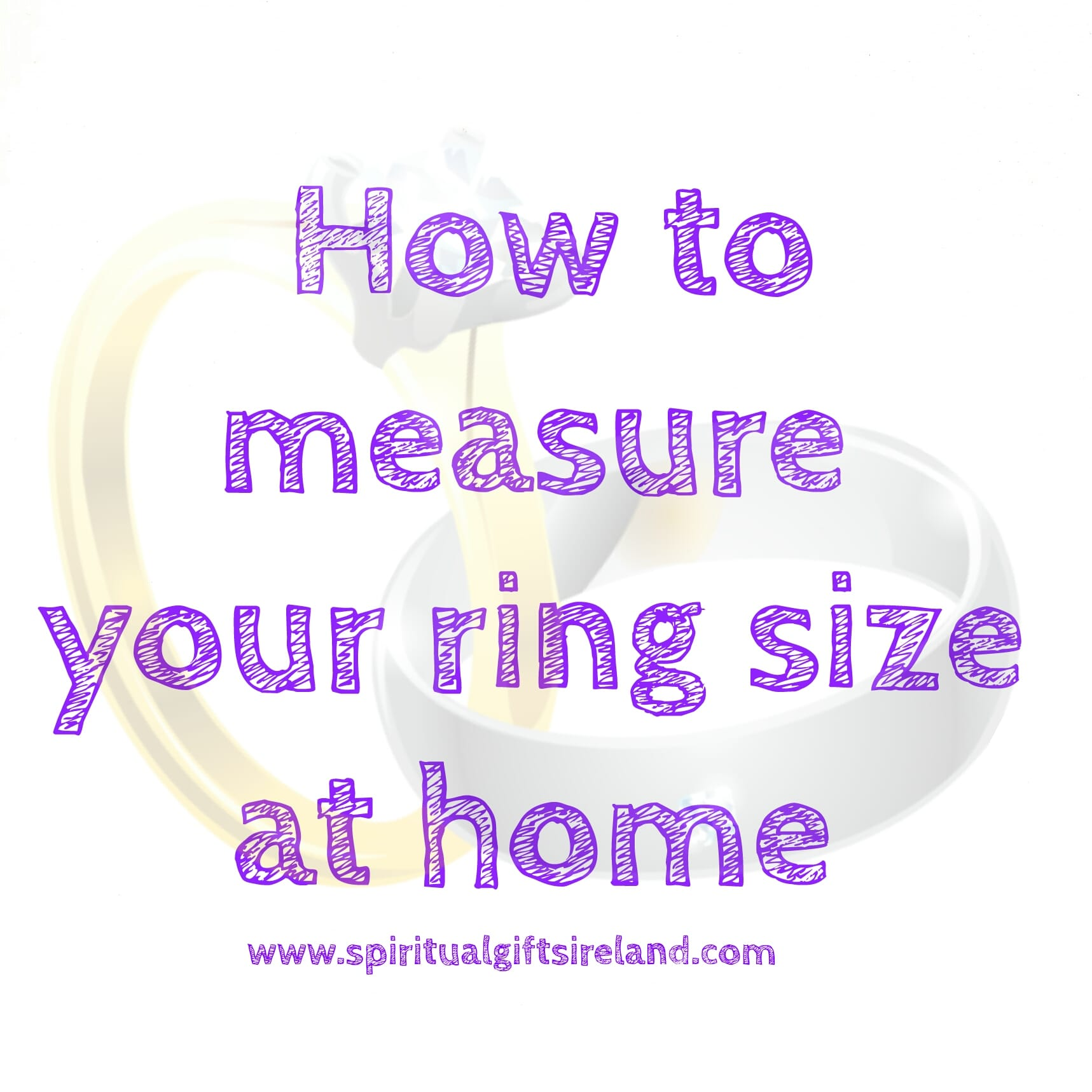 How to get your ring size measurement at home