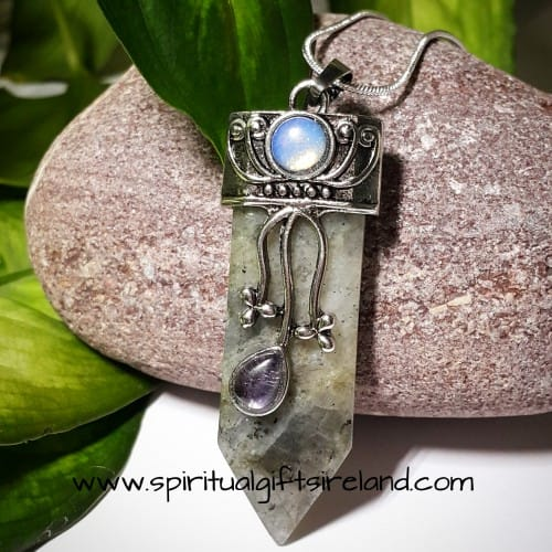 Labradorite Divine Goddess Pendant