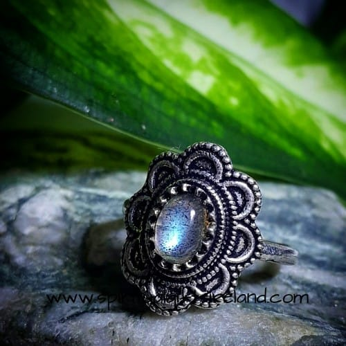 Moonstone Pinky Ring