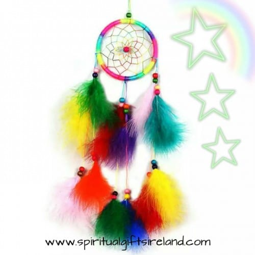 Rainbow Magic Fluffy Feather Dreamcatcher