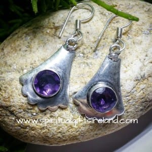 Water Sapphire Iolite Earrings