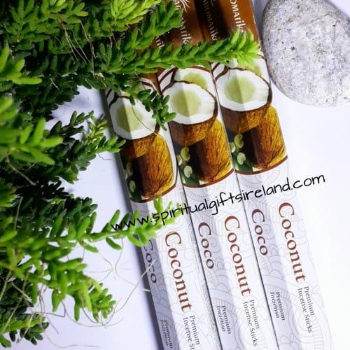 All New Coconut Incense Sticks