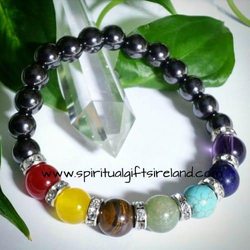 Hematite Chakra Crystal Bracelet