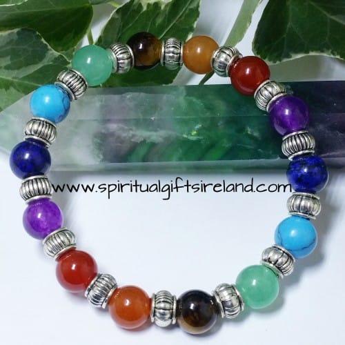 Chakra Rainbow Bracelet Handmade Universal Size