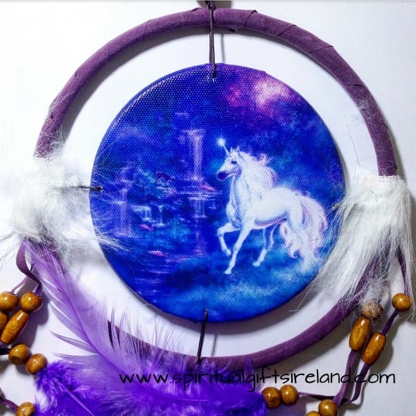 Unicorn Dreamcatcher Small Purple