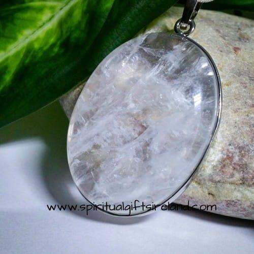 Clear Quartz Master Healer Pendant