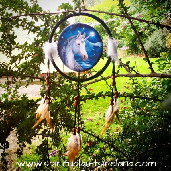 Free Spirit Unicorn Dreamcatcher