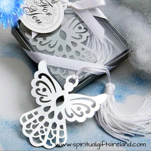 Angel Tassel Unique Bookmarks Gift Boxed
