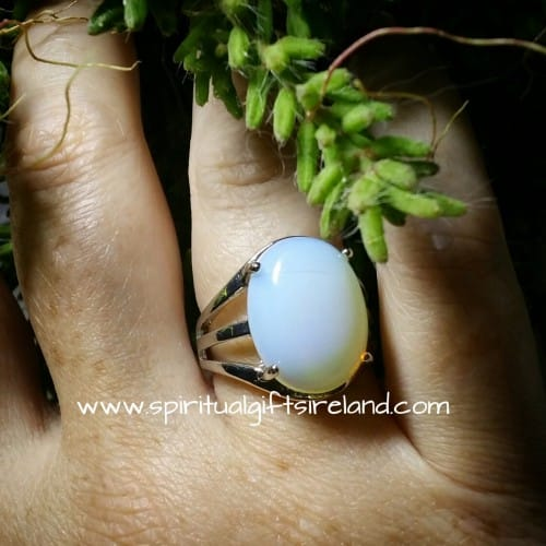Opalite Harmony Ring Adjustable