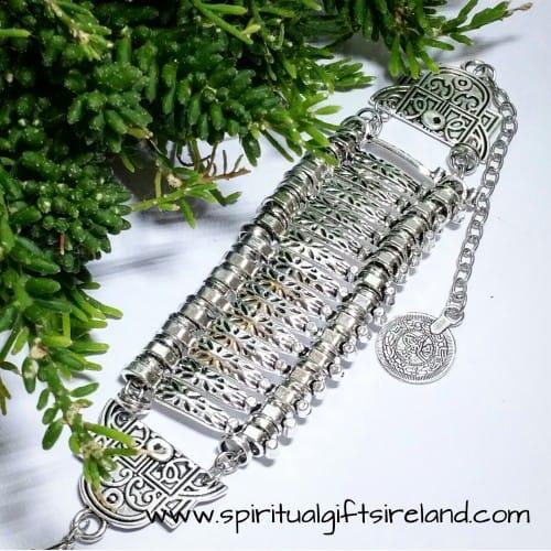 Tibetan Silver Spirit 15 Cuff Bracelet Bangle