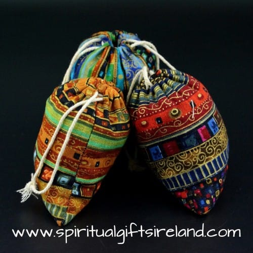 Aztec Ethnic Print 100% Cotton Gift Pouches
