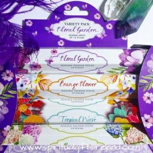 Incense Gift Pack Floral Garden