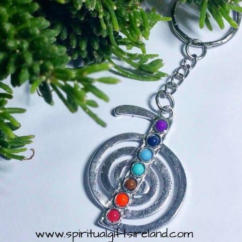 Cho Ku Rei Reiki Symbol Chakra Healing Keyring Keychain