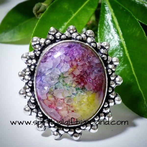 Handcrafted Sterling Silver Gemstone Rings