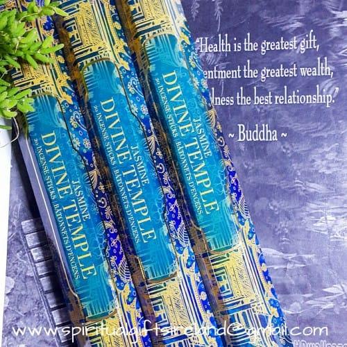 Jasmine Incense Divine Temple