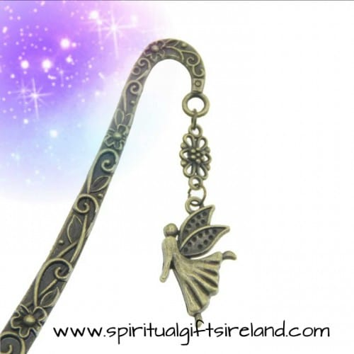Guardian Angel Antique Bronze Bookmark