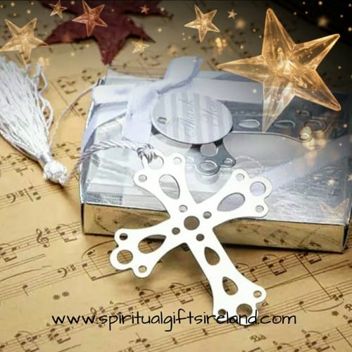 Cross Bookmark Gift Boxed