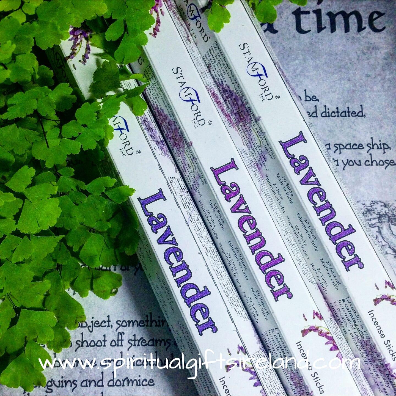 Stamford lavender incense sticks spiritual gifts ireland stamford lavender incense sticks negle Gallery