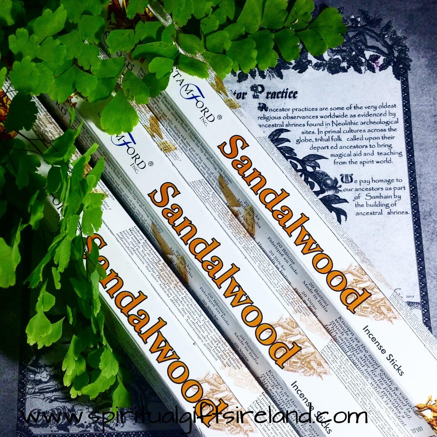 Stamford Sandalwood Incense Sticks