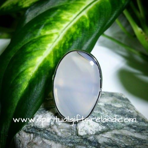 Jade Harmony Ring Adjustable Size