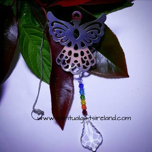 Angel Swarovski Crystal Suncatcher